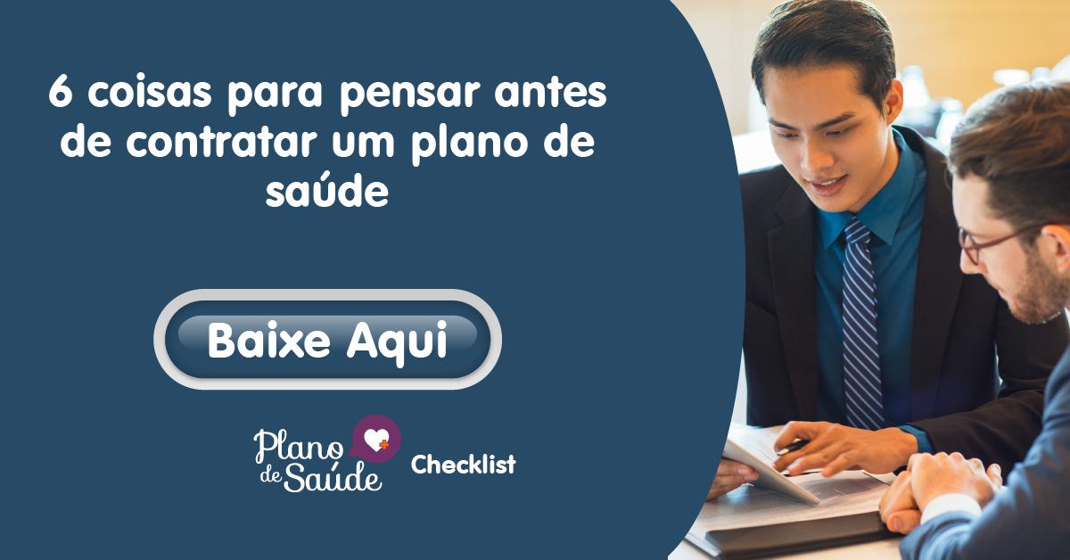 Checklist para fazer antes de contratar um plano de saúde