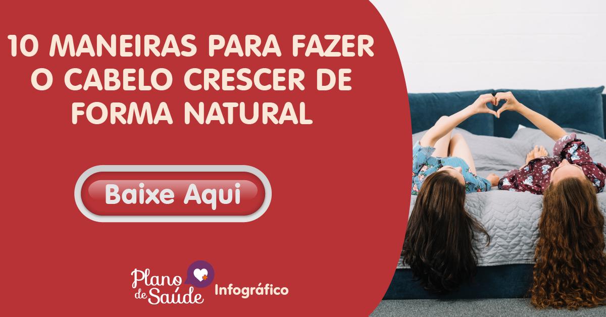 10 MANEIRAS PARA FAZER O CABELO CRESCER DE FORMA NATURAL