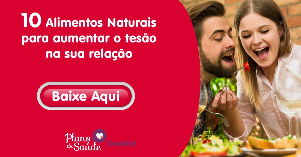 10 Alimentos Naturais para aumentar o tesão na sua relação