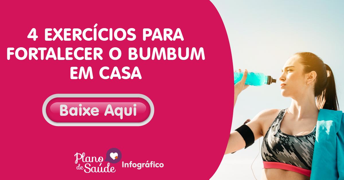 4 EXERCÍCIOS PARA FORTALECER O BUMBUM EM CASA