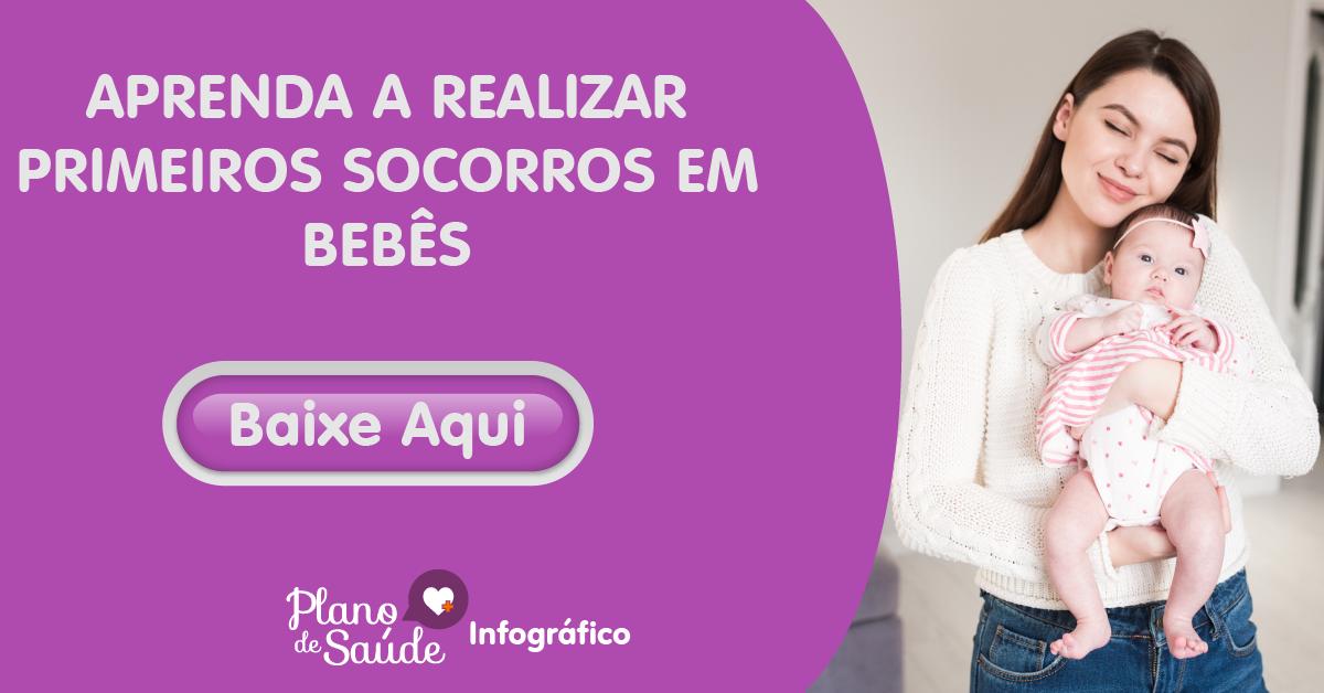 APRENDA A REALIZAR PRIMEIROS SOCORROS EM BEBÊS